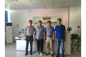 江苏省泗洪县农业资源开发局来访--探寻自动化制造技术