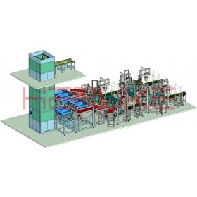 多晶硅生产线